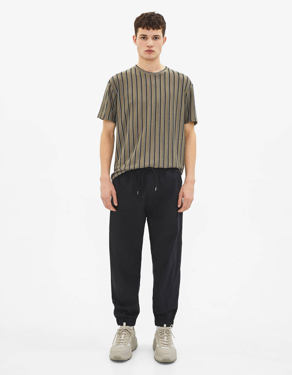Pantalon jogger coupe ample