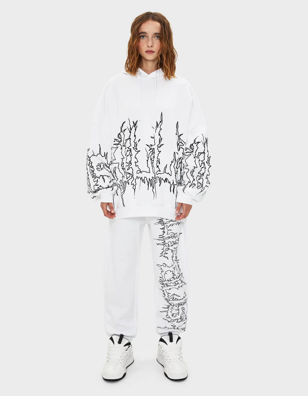Billie Eilish x Bershka joggers