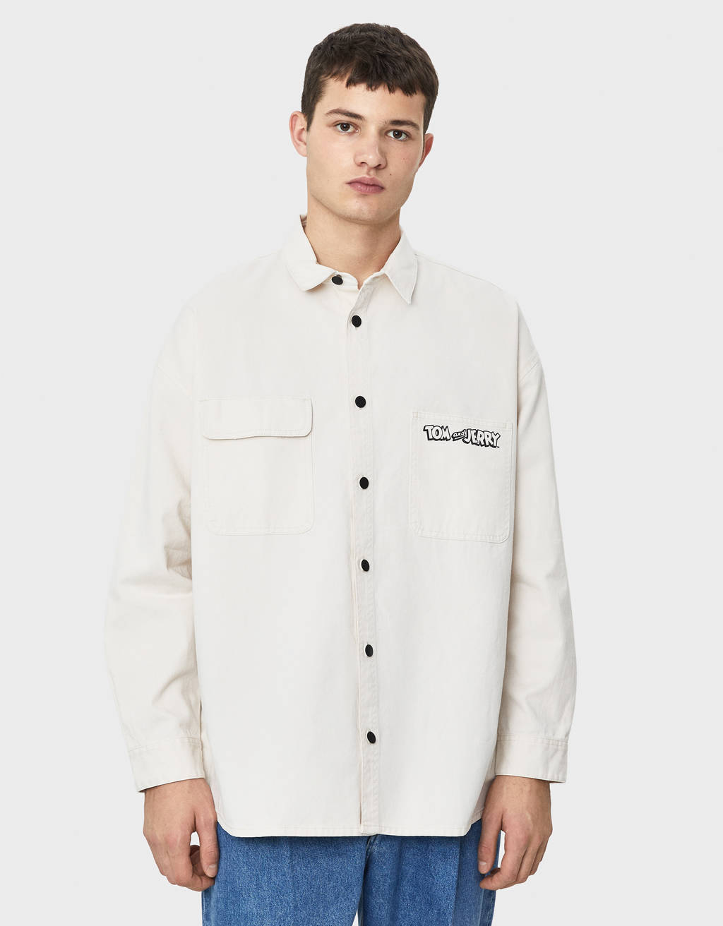 Tom & Jerry overshirt