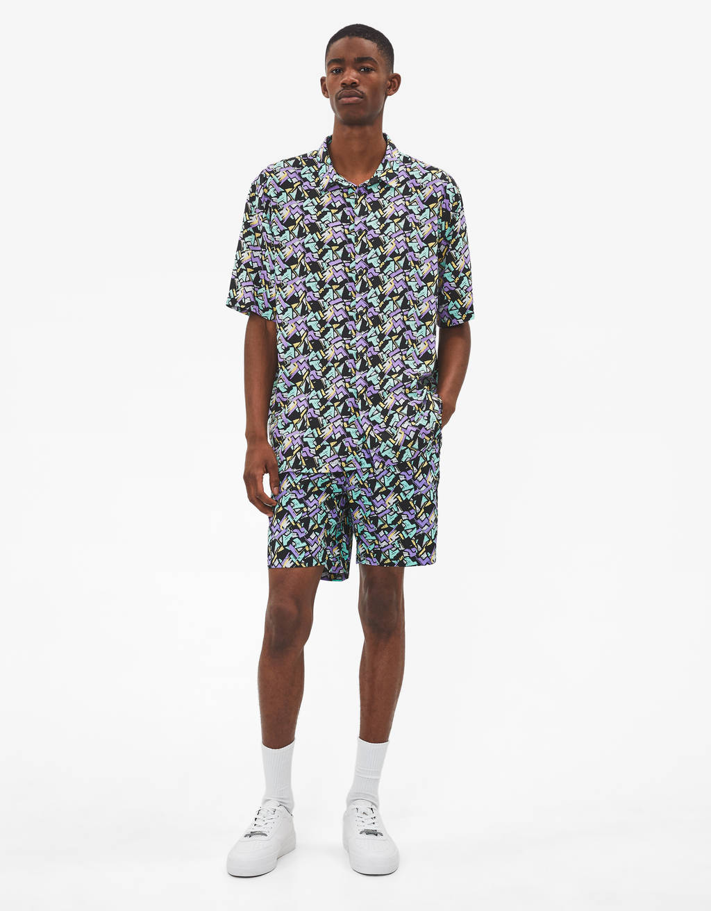 Camisa con estampado 90'S