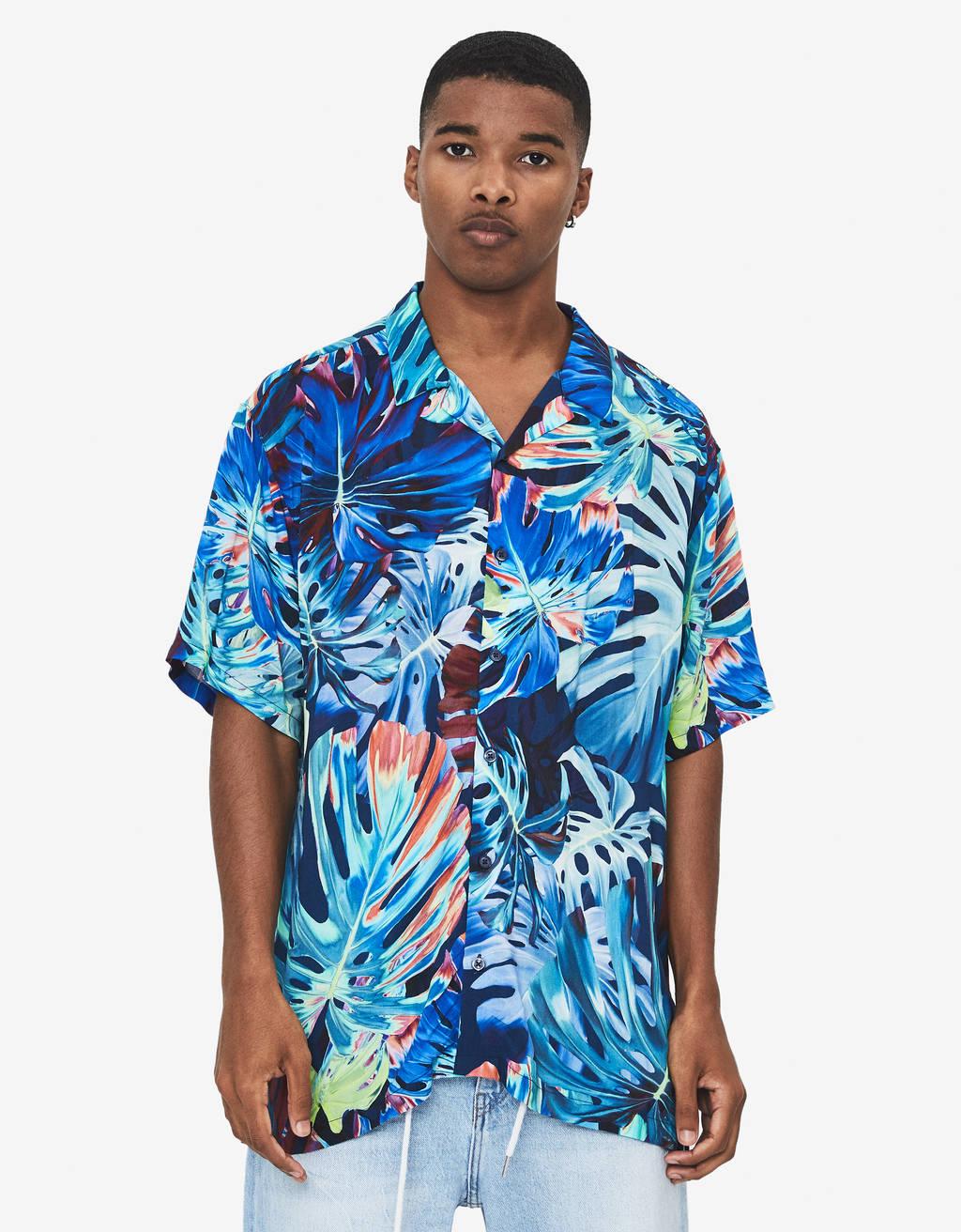Shirt met bloemen