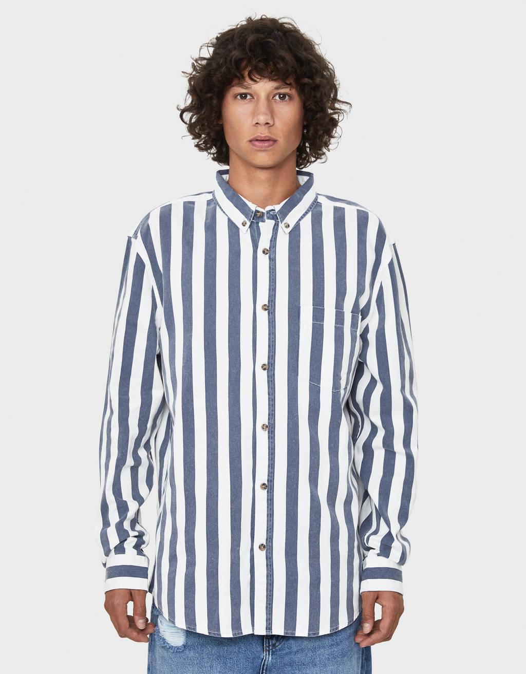 Overshirt with print