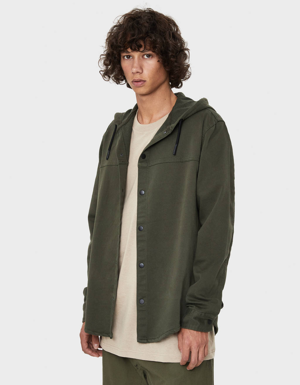 Hooded overshirt