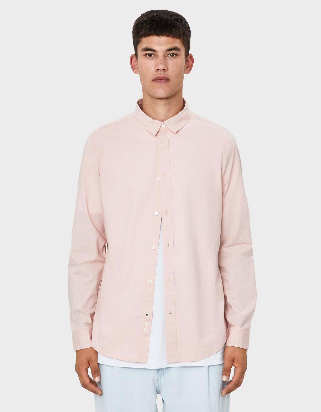 Poplin shirt