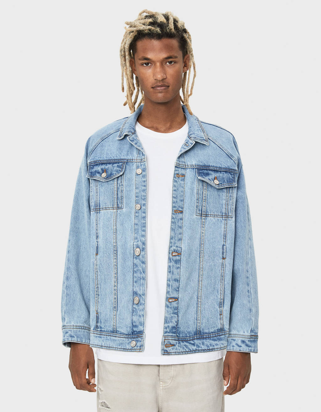 Denim Sesame Street jacket
