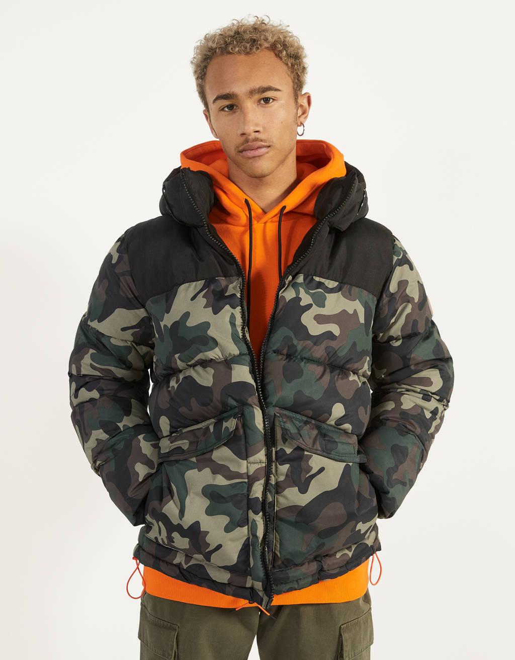 Dvobojna prošivena jakna