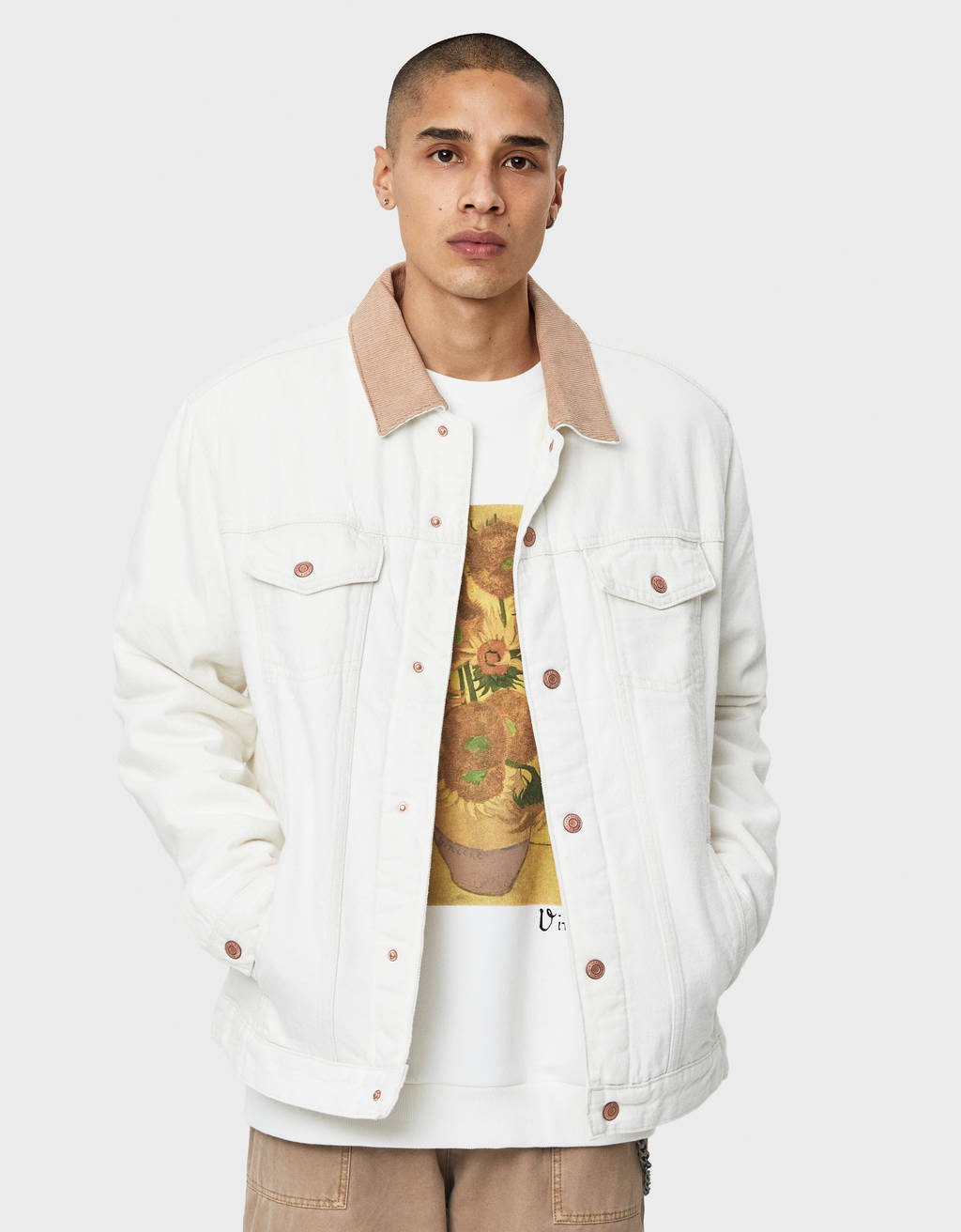 Traper jakna s flisom