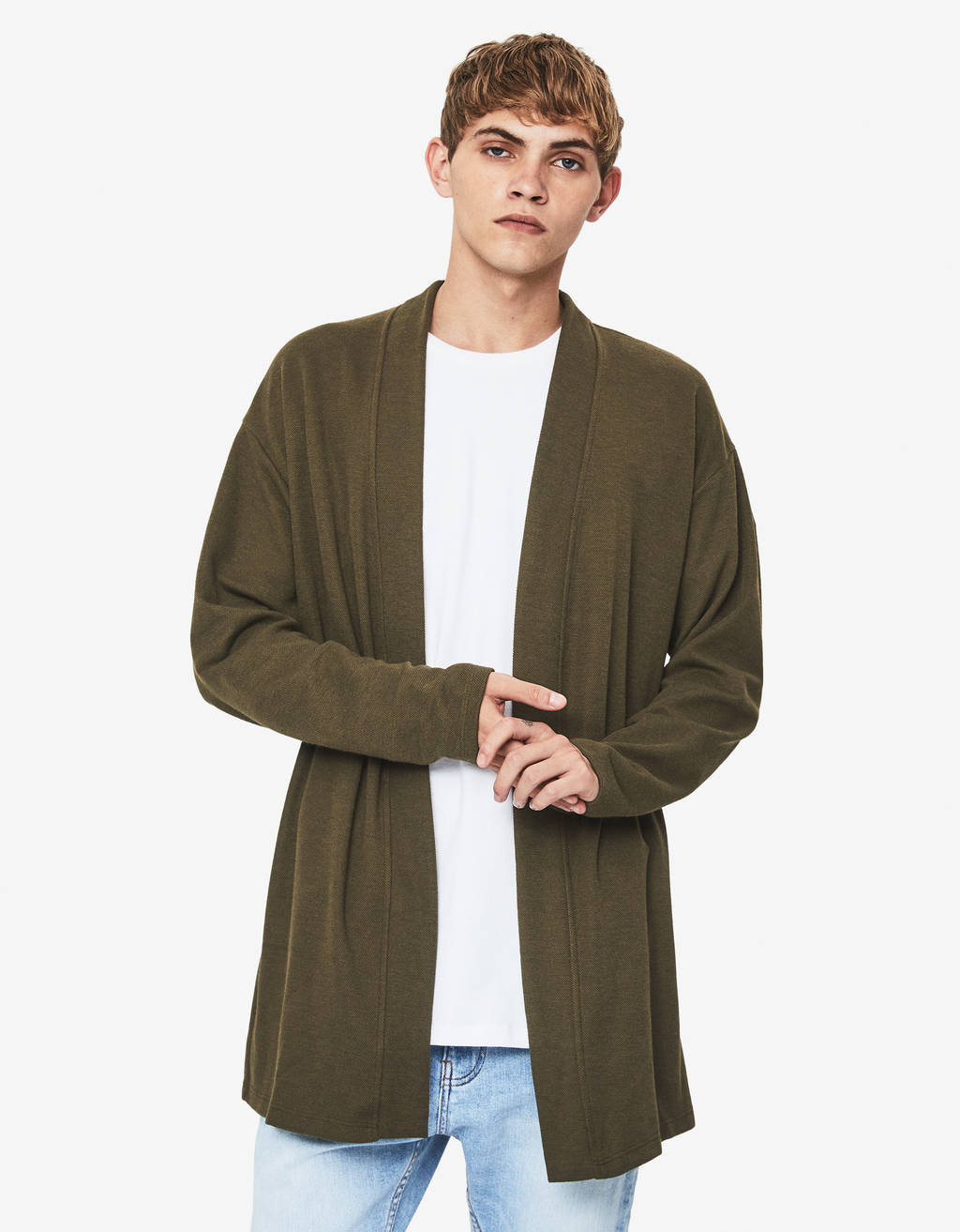 Lightweight long sleeve cardigan