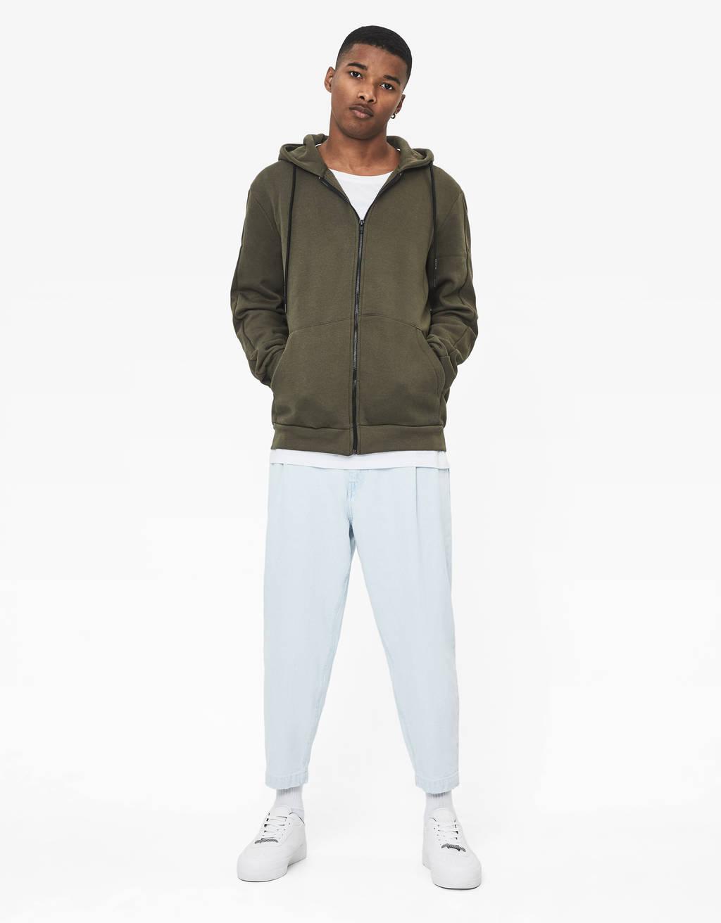 Jacket with hood