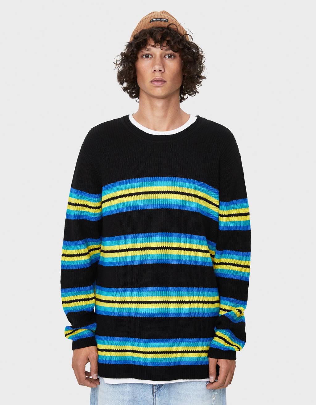 Pullover mit Rundausschnitt