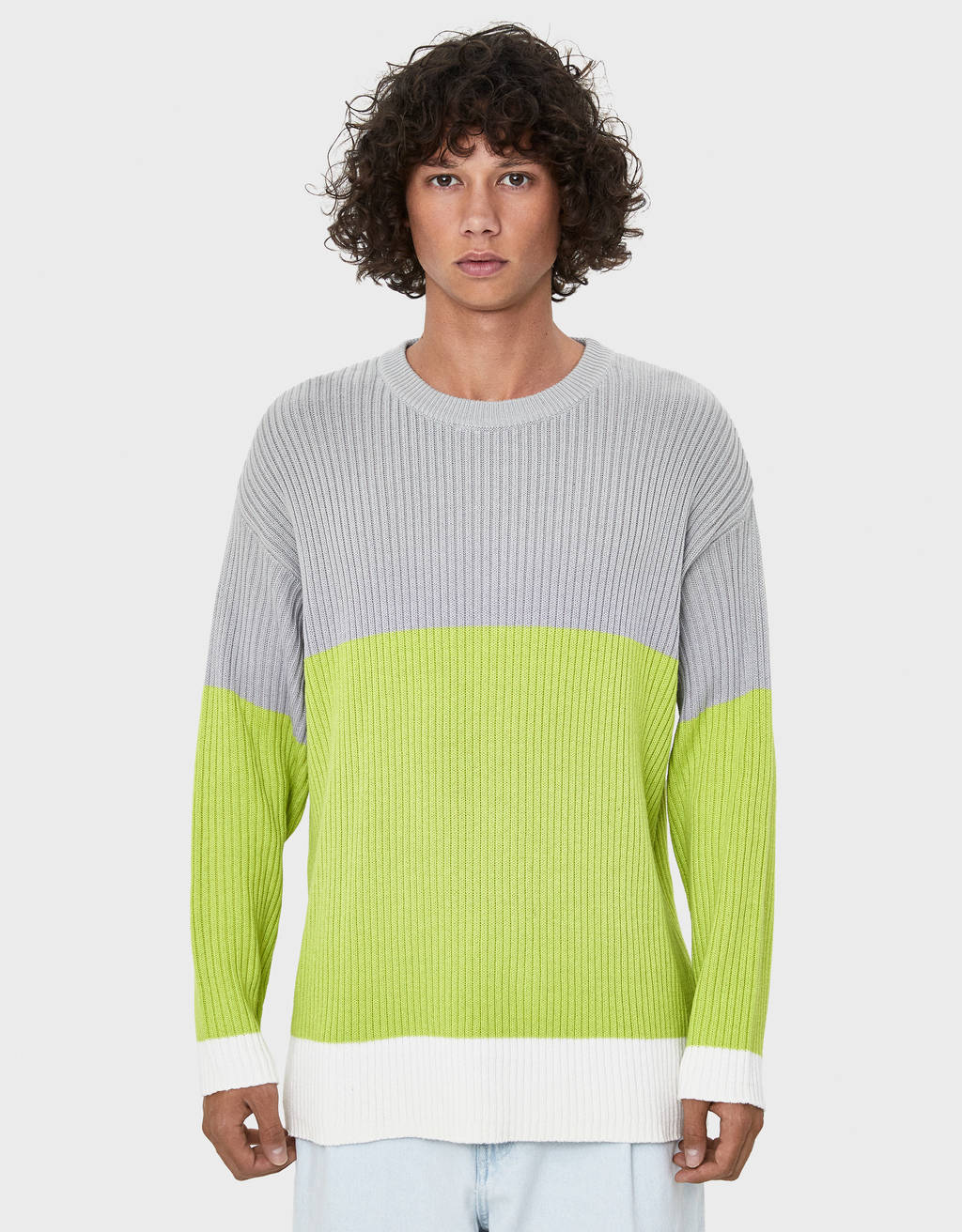 Džemper s blokovima boja
