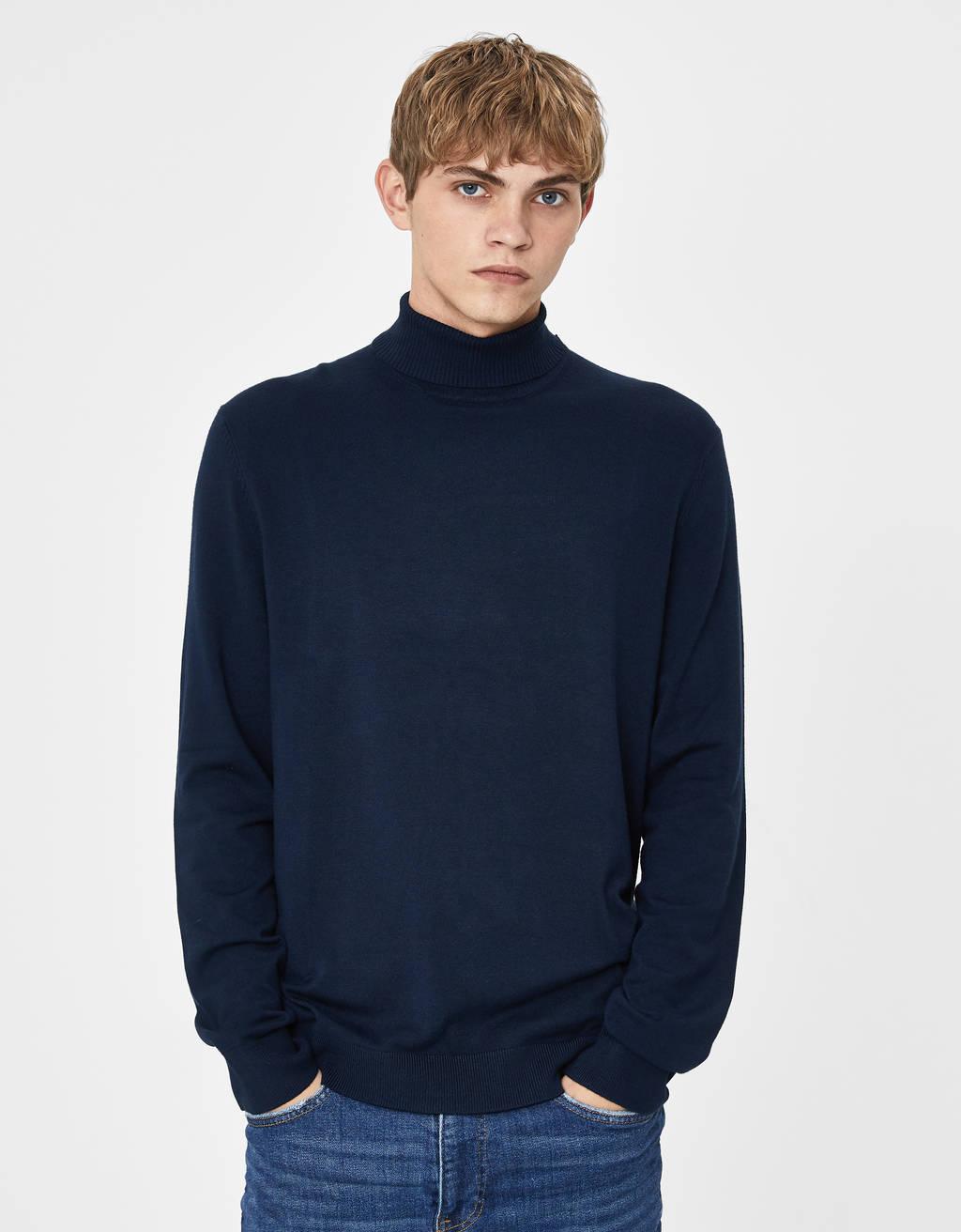 Sweater de gola alta