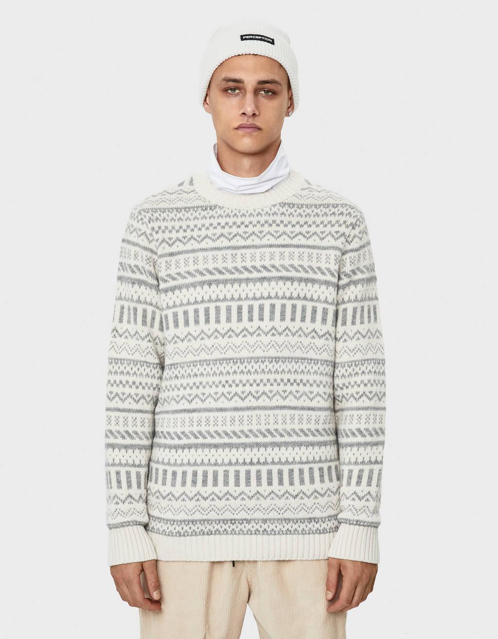 Sweater com estampado
