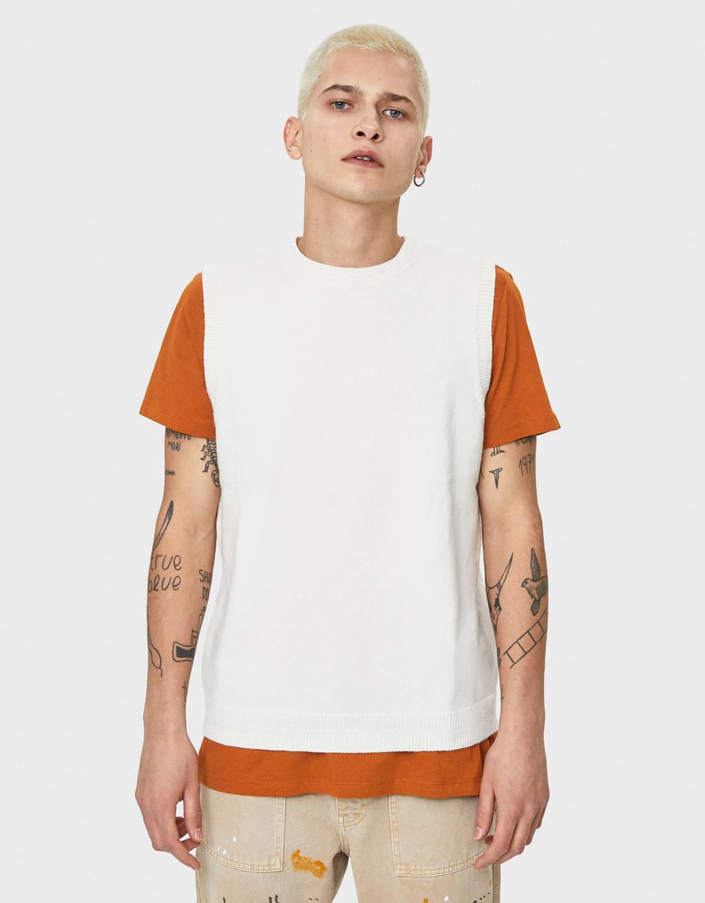 Round neck vest
