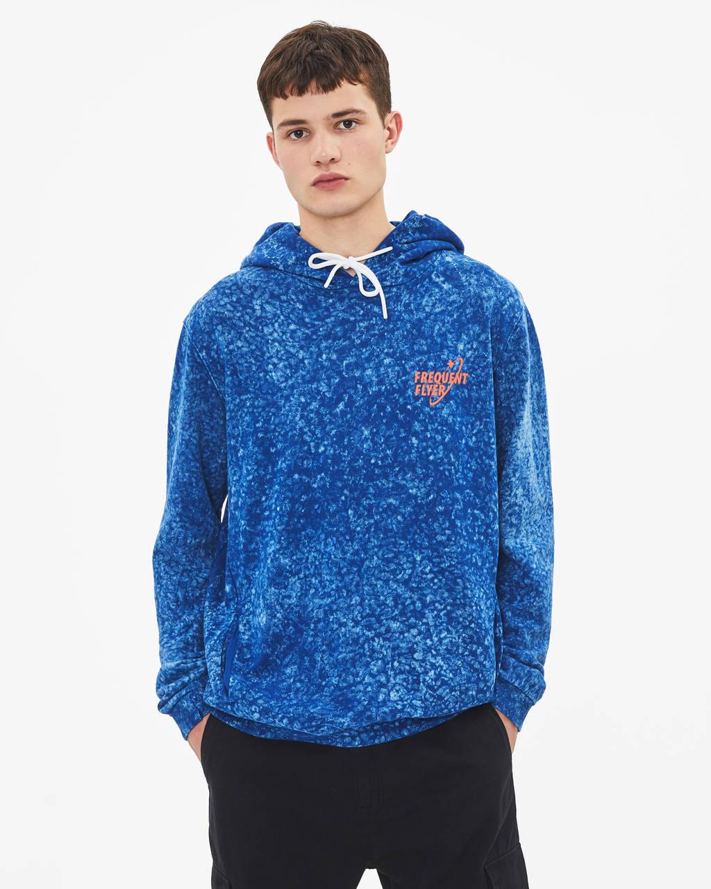 Acid wash sweatshirt