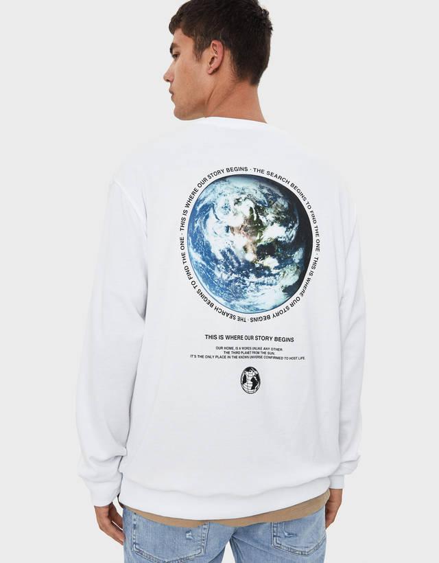 e2a561a3 Men's sweatshirts - Fall 2019 | Bershka