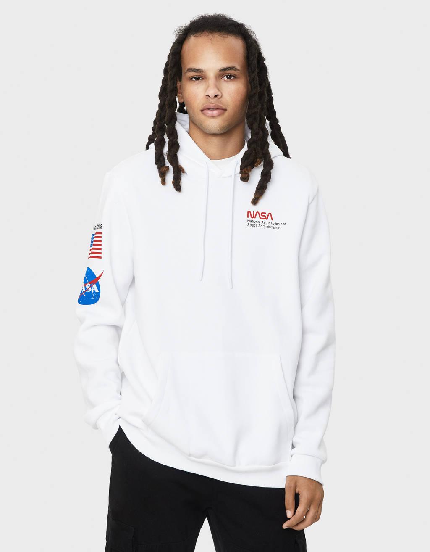 Sweater majica s kapuljačom NASA