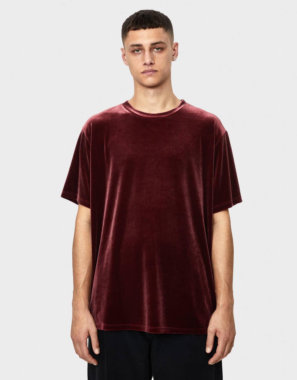T-shirt en velours