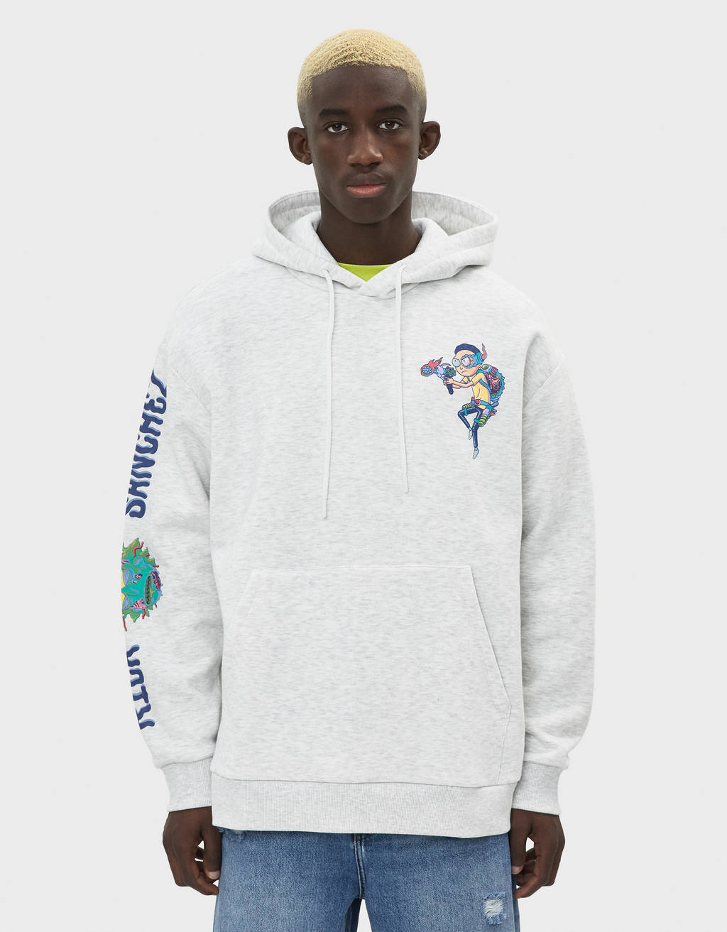 Sweat à capuche Rick & Morty