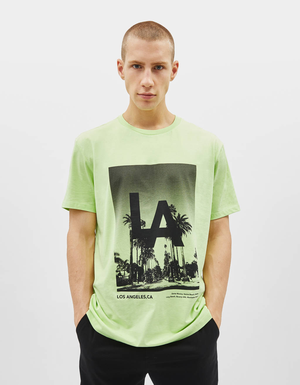 T-Shirts - COLLECTION - MEN - Bershka Philippines