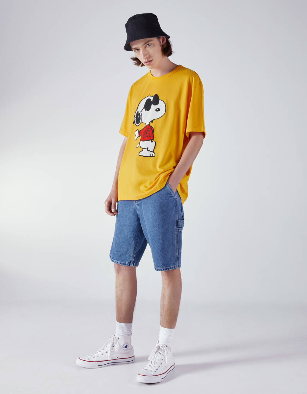 T-shirt com estampado de Snoopy
