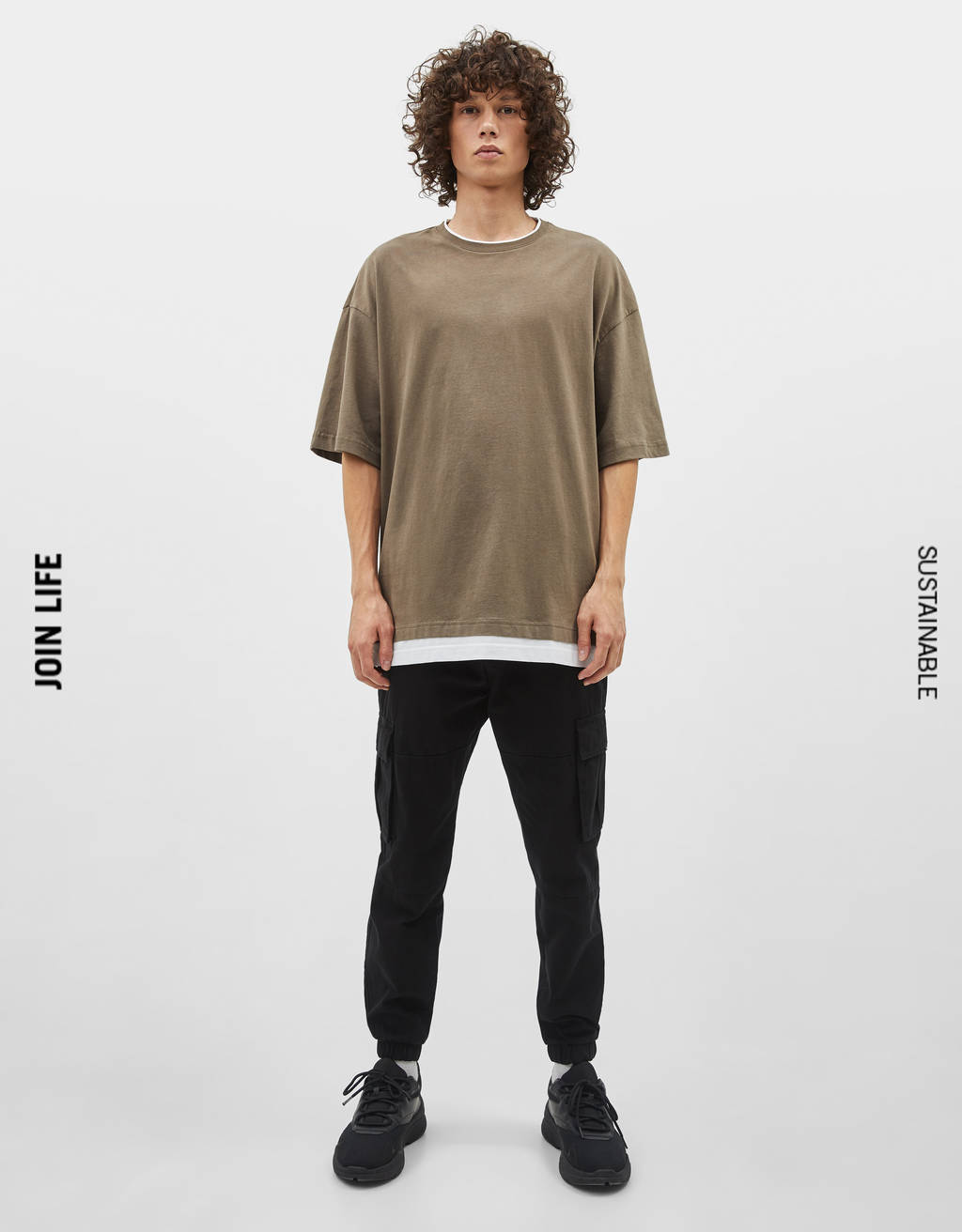 T-shirt with contrast trim