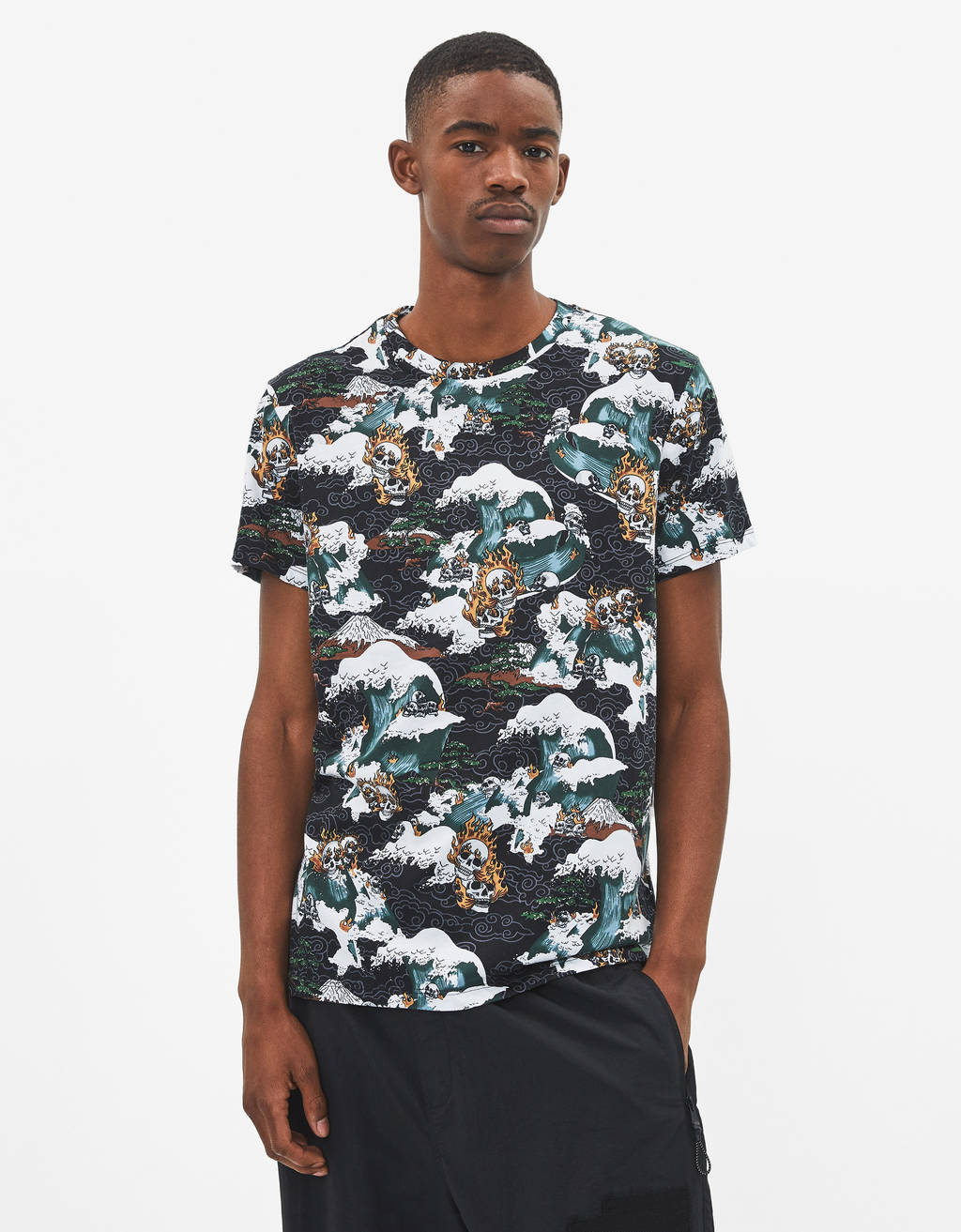 1113c710cbd1 Printed - T-Shirts - COLLECTION - MEN - Bershka United States