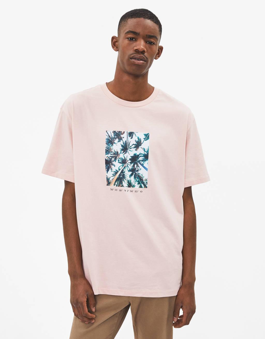 f726f36d7b7525 Men's T-Shirts - Summer Sale 2019   Bershka