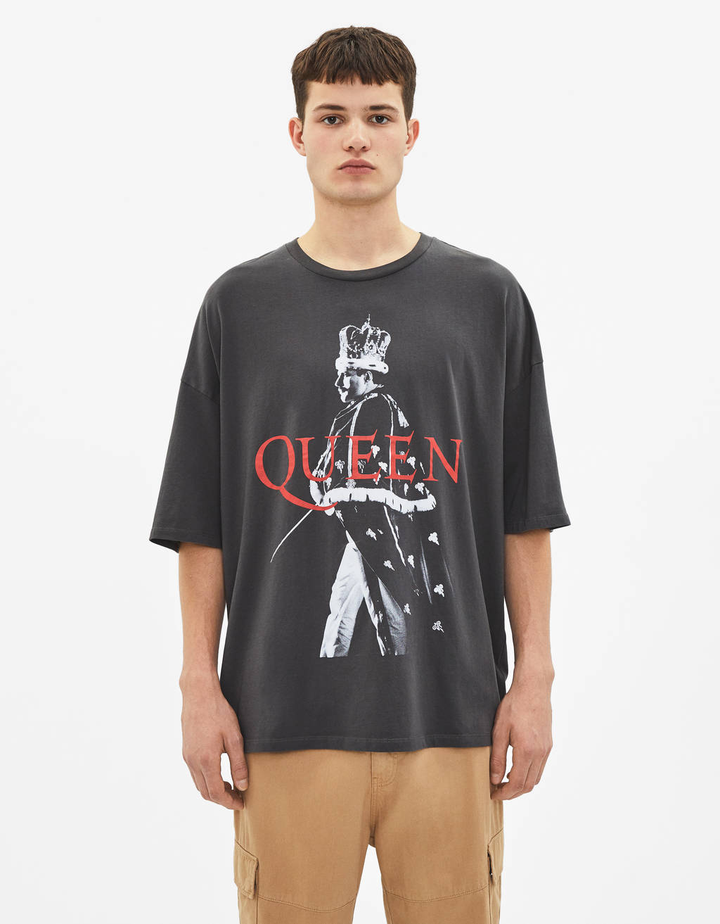 T-shirt med Queen
