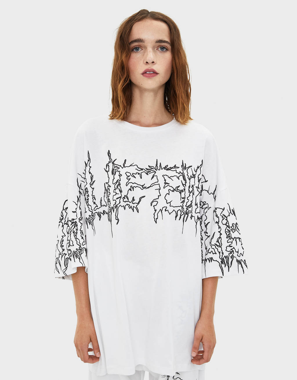 T-Shirt Billie Eilish x Bershka
