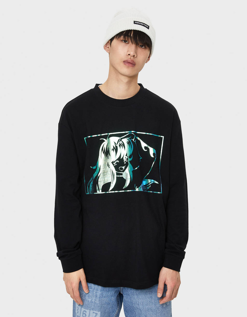 Sweatshirt com estampado
