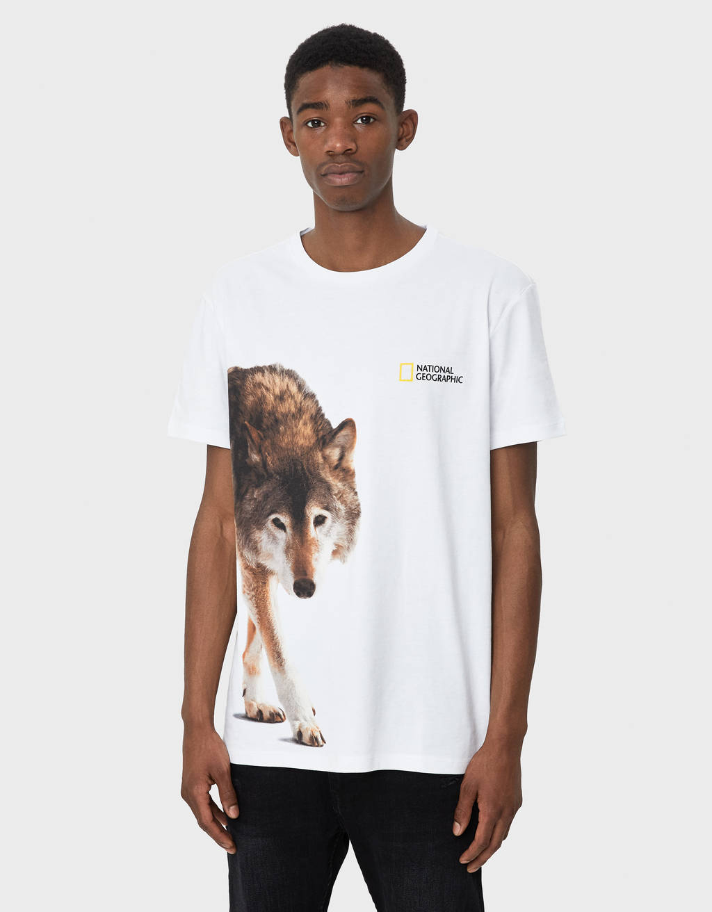 T-shirt loup National Geographic