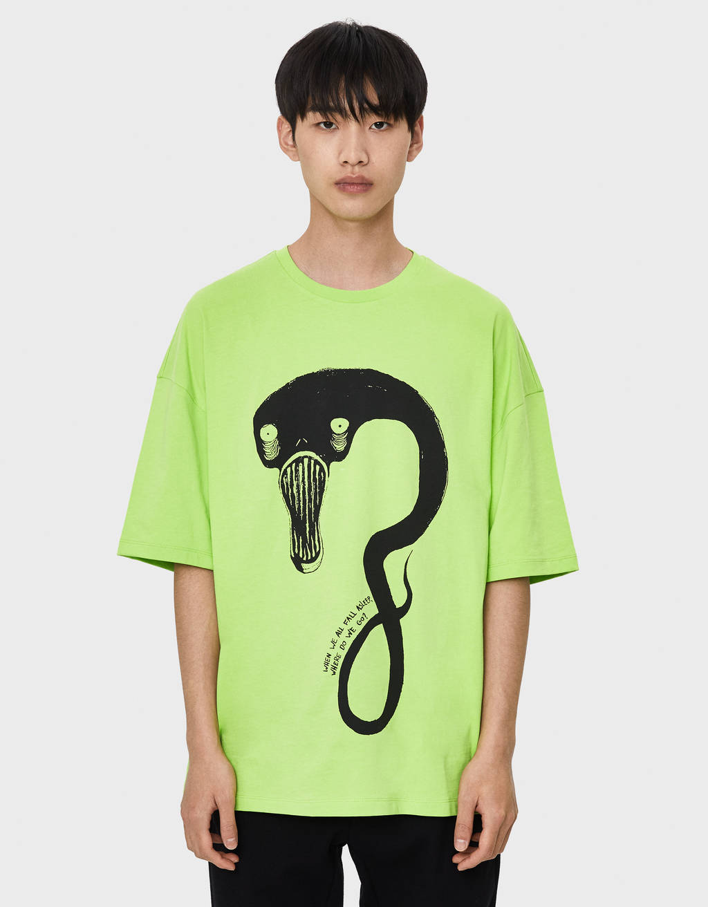 Camiseta Billie Eilish x Bershka