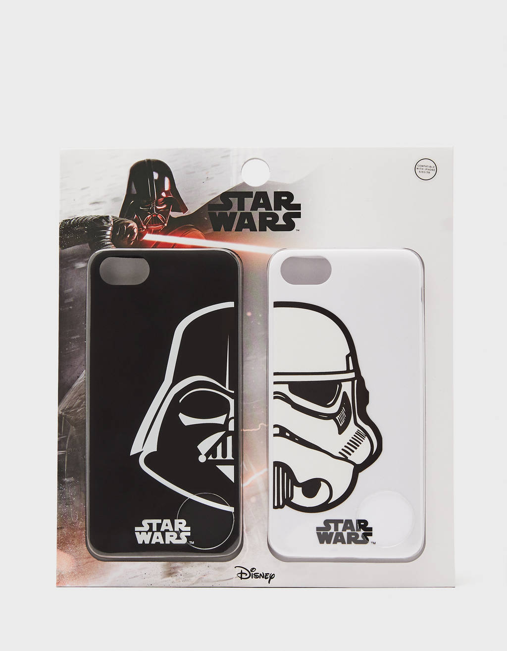 Set de capas Star Wars iPhone 6/7/8