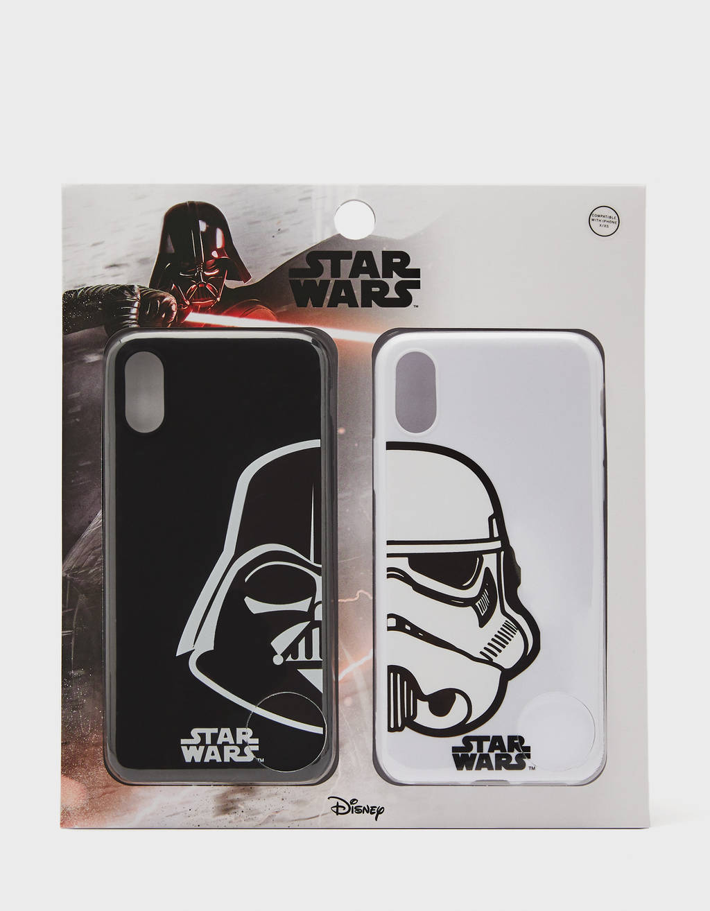 Lot de coques Star Wars iPhone X/ XS