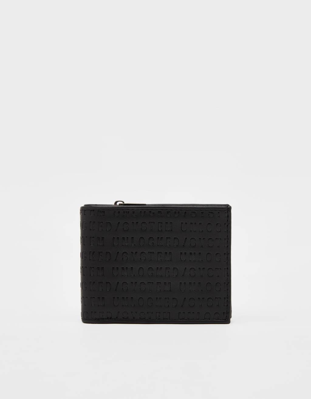 Embossed wallet