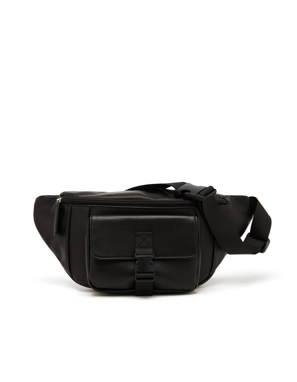 Faux leather belt bag