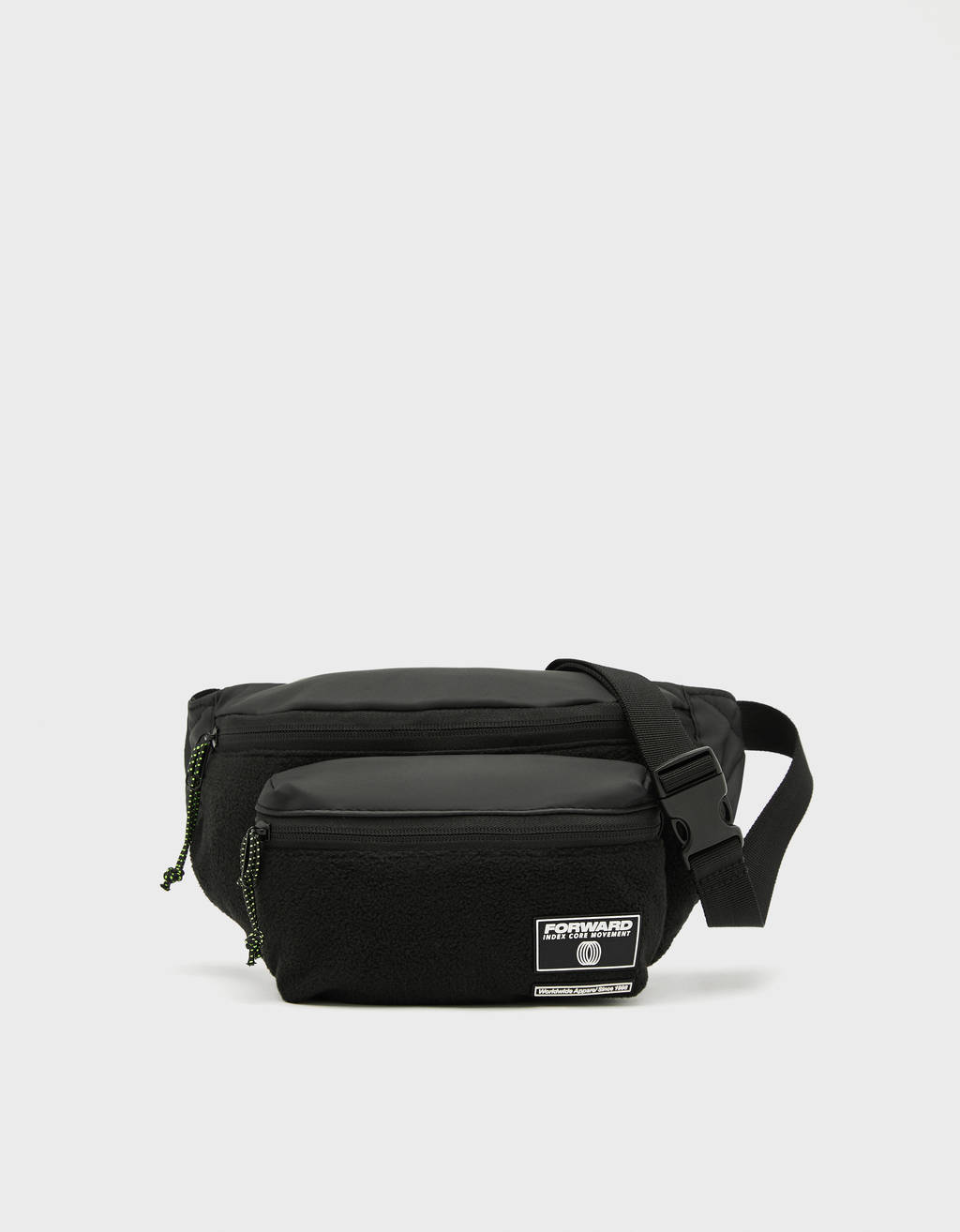 Fleece belt bag