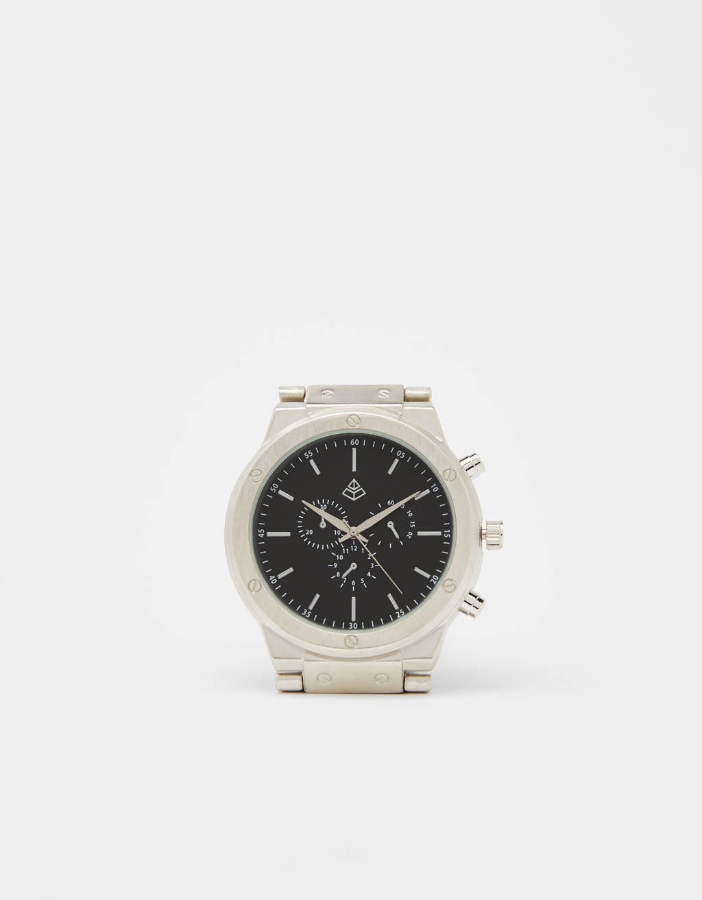 Metal analogue watch