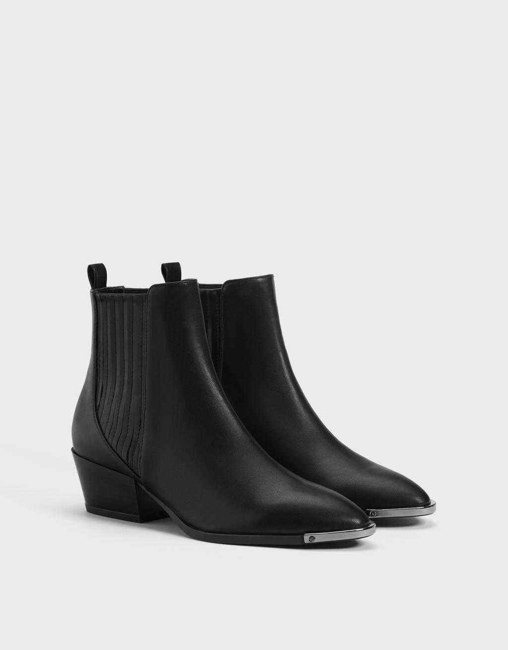 nuevo producto 1af12 60daa Botines - Zapatos - COLECCIÓN - MUJER - Bershka España