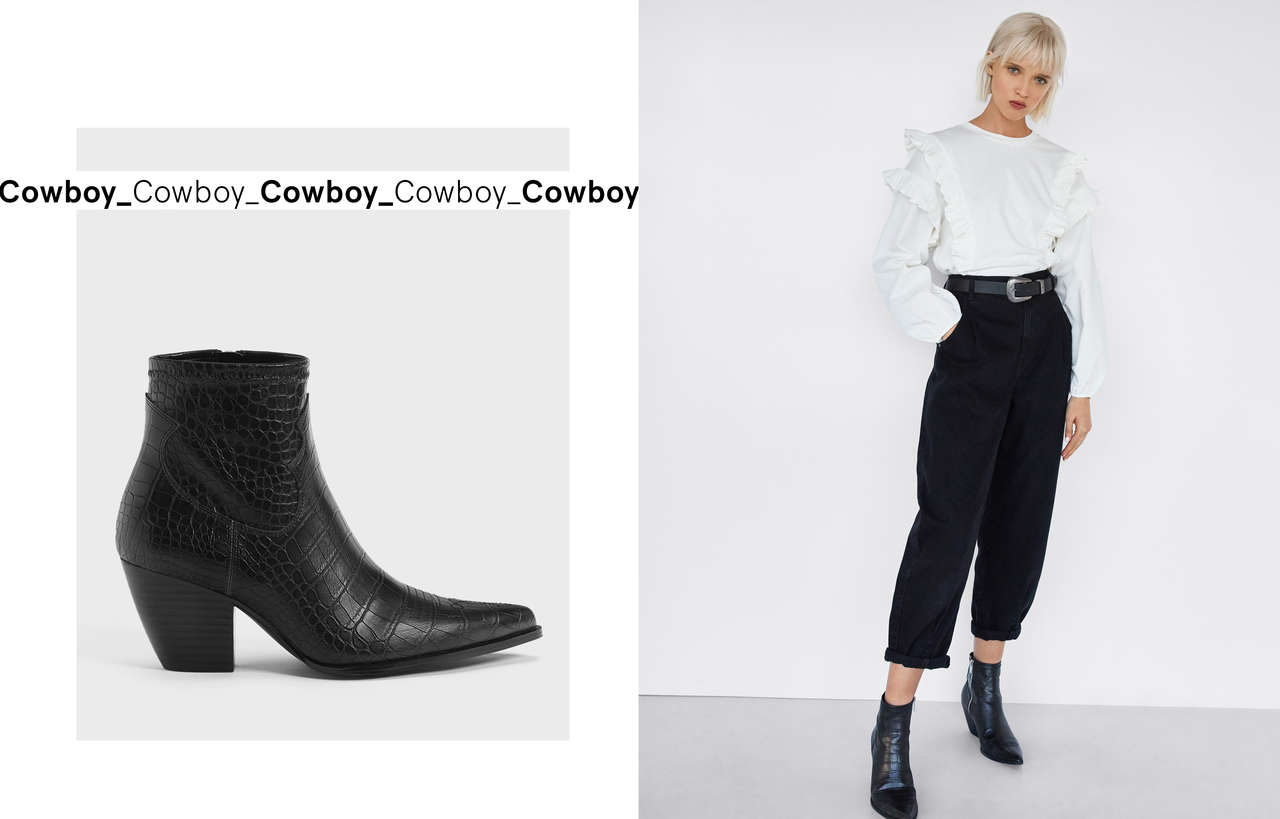 0672fefbdc92d Ankle boots - Shoes - COLLECTION - WOMEN - Bershka United Kingdom