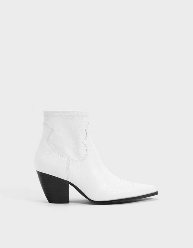 c6f74f16b7a Ankle boots - Shoes - COLLECTION - WOMEN - Bershka United Kingdom