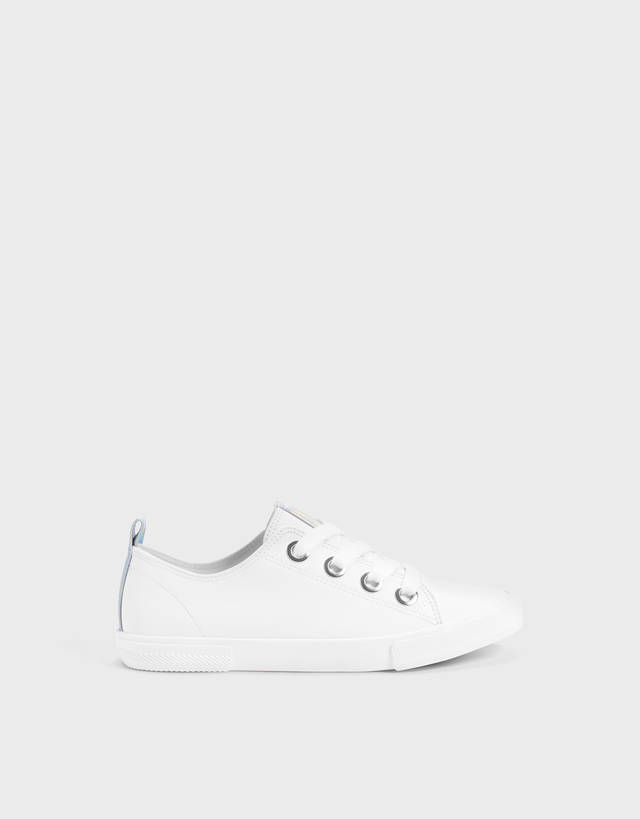 a2195f94ef786 Baskets - Chaussures - COLLECTION - FEMME - Bershka France