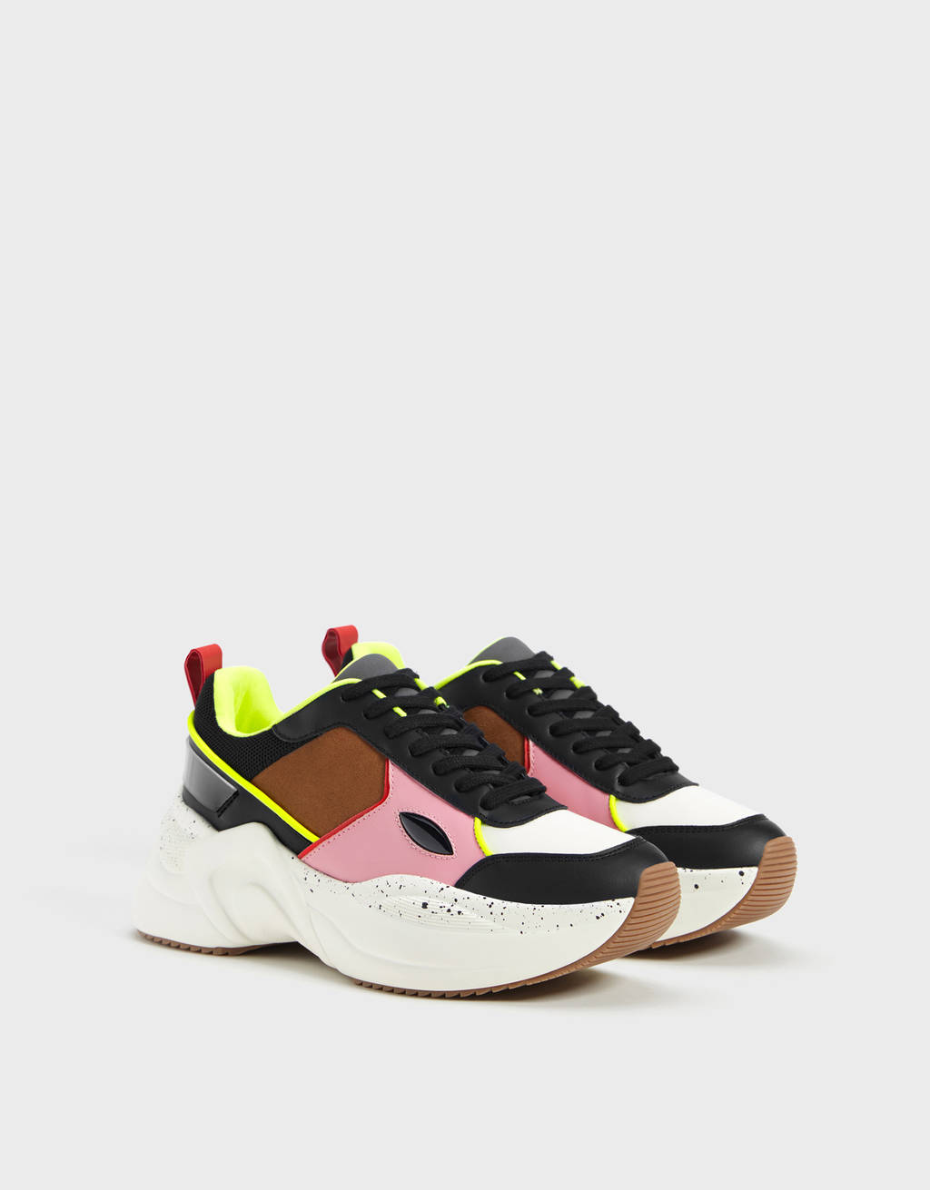 Contrast XL sole trainers