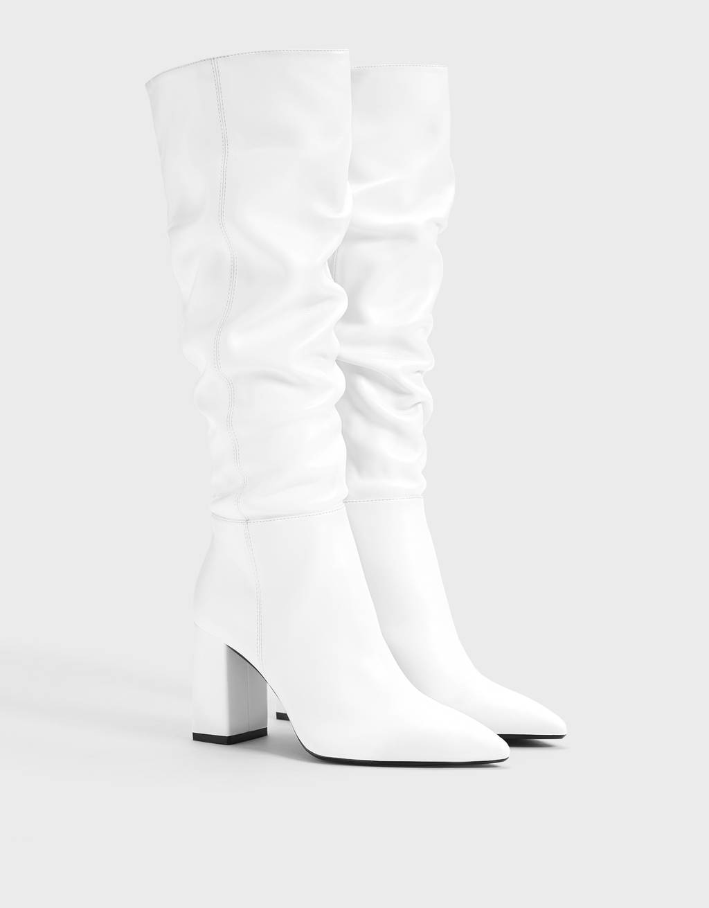 Vrećaste čizme s visokom potpeticom