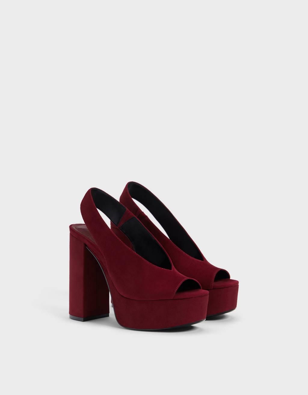 3b5274aa6d Zapatos de mujer - Rebajas de Verano 2019   Bershka