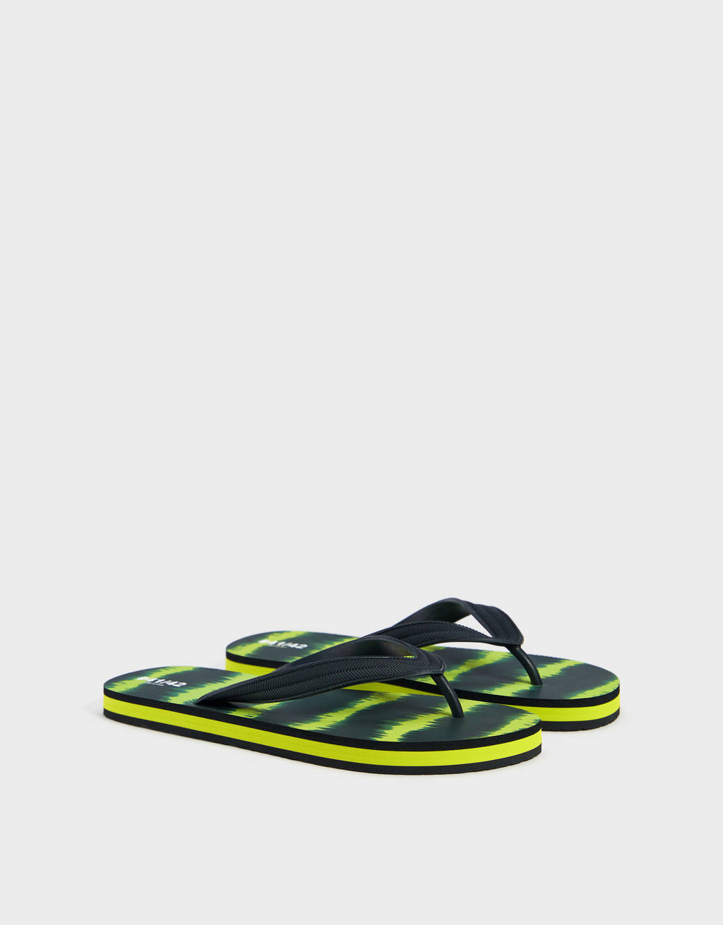 Tie dye sandaal met bandjes