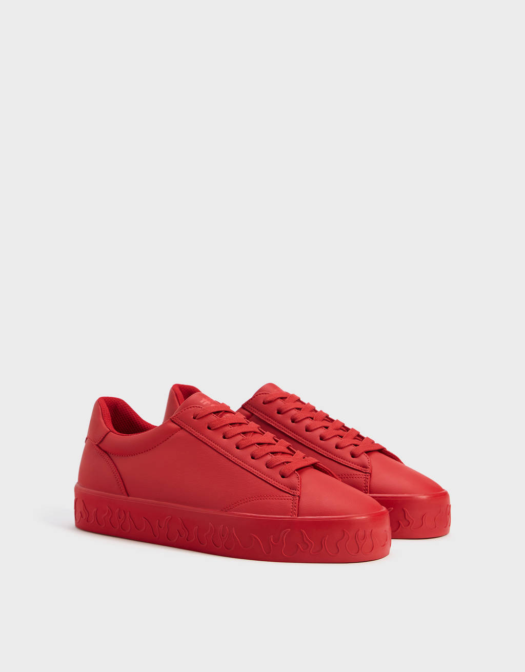 Men's Trainers With Flame Detail by Bershka