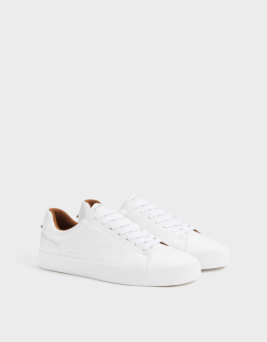 Men's white trainers