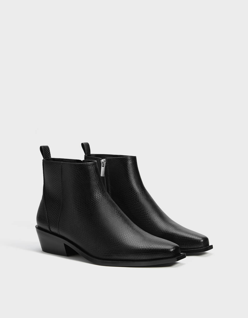 Bottines cowboy homme